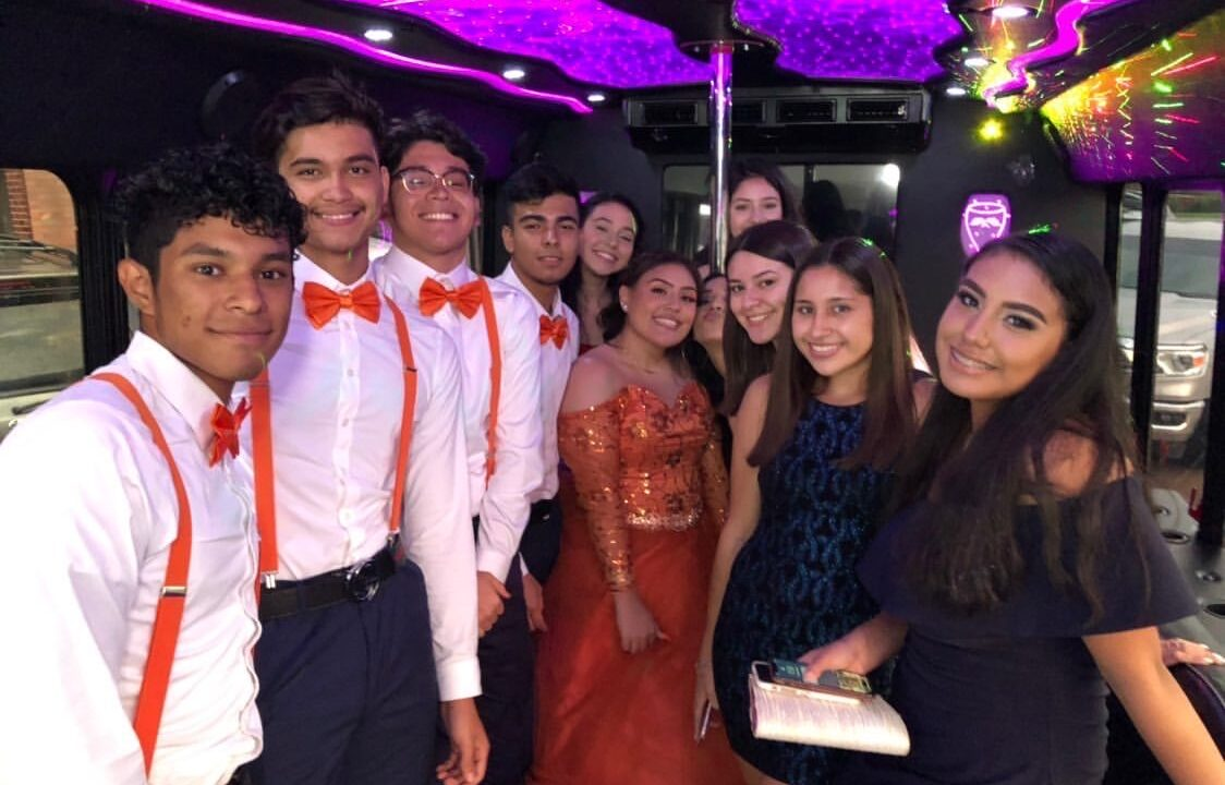 Quinceanera Party Bus