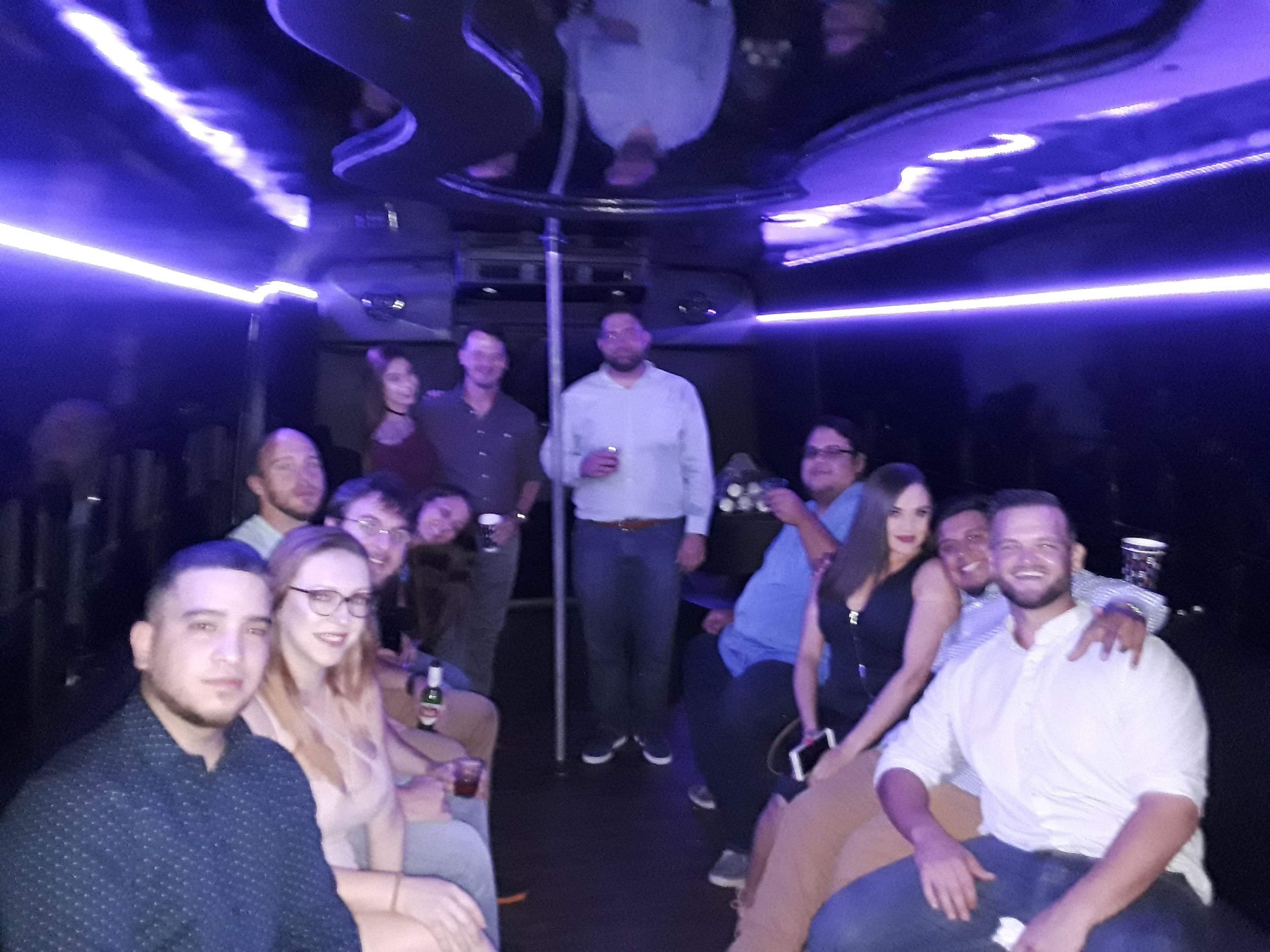 Night Out Party Bus